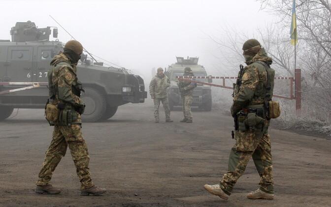 Ukraina sõjaväelased.