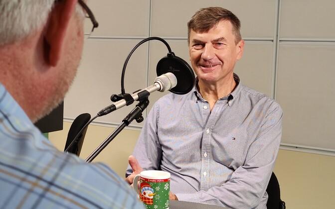 Andrus Ansipi intervjuu Toomas Sildamile.