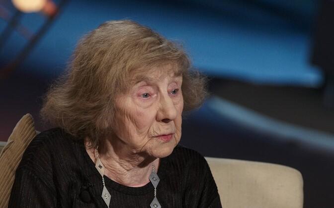 Лейда Раммо в передаче ETV