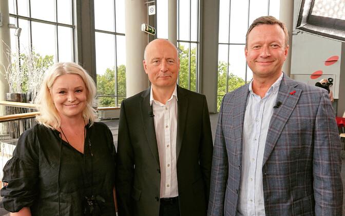Karmel Killandi, Paavo Järvi ja Marko Reikop