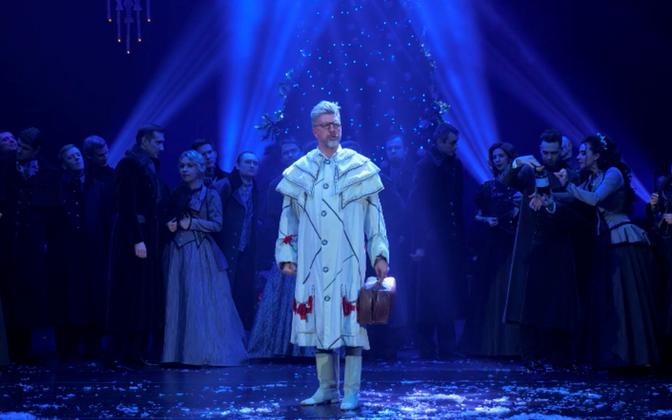 Moskva Helikon ooperi solist Mihhail Nikanorov esitamas Don Barolo aariat G. Rossini ooperist