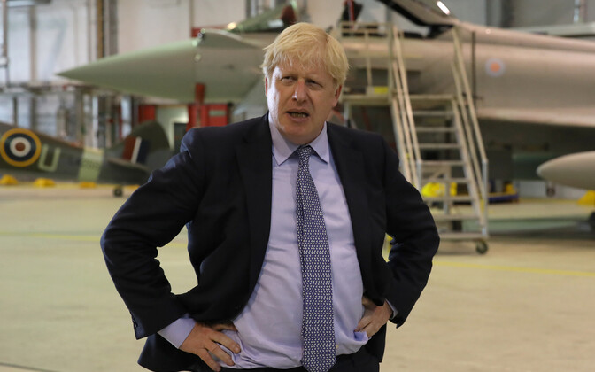 Boris Johnson visiidil Sotimaale.