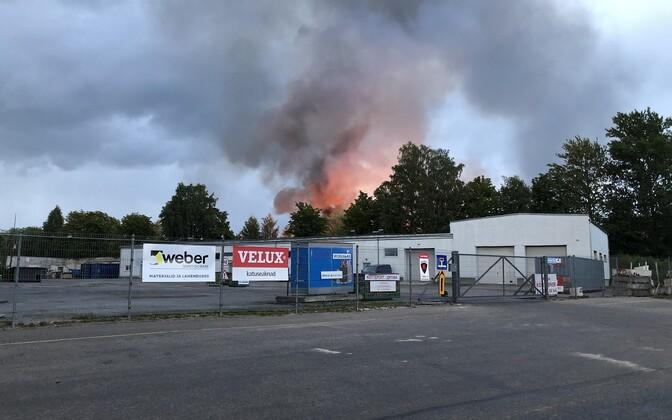 Пожар в Копли.