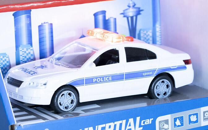 На выставке в Раквере представлены модели служебных автомобилей.