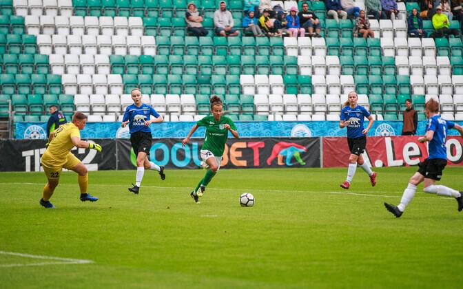 Naiste jalgpalli karikafinaal Tallinna FC Flora ja JK Tallinna Kalev vahel