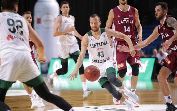 Läti - Leedu korvpalli Balti keti karikaturniiril