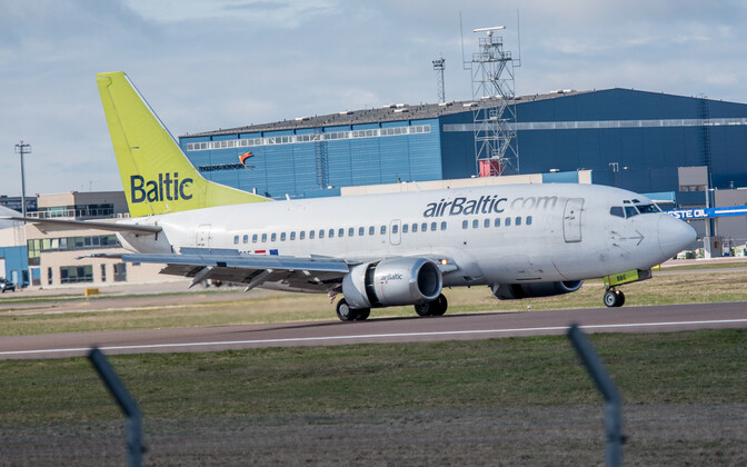 Air Balticu lennuk.
