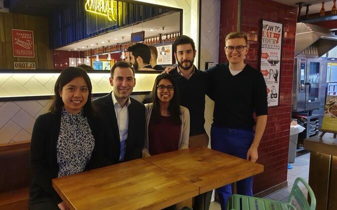 Команда стартапа Transformative AI.