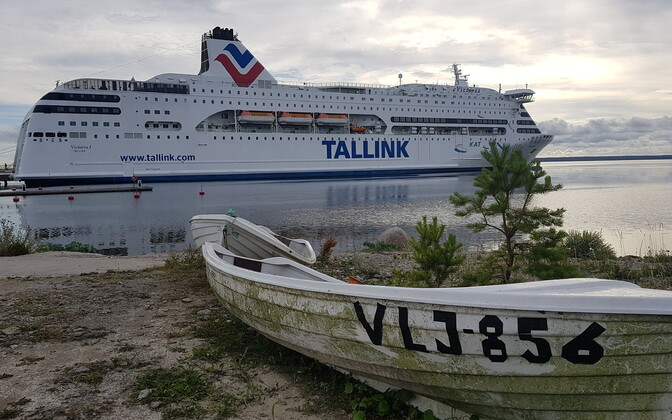 Tallink's Victoria I on her one-off cruise to Saaremaa in July.