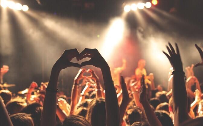 Концерт. Иллюстративная фотография.