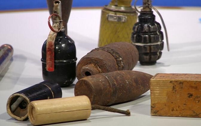 Explosives (photo is illustrative).