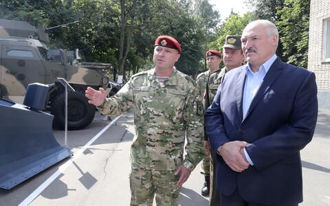 Александр Лукашенко на встрече с силовиками.