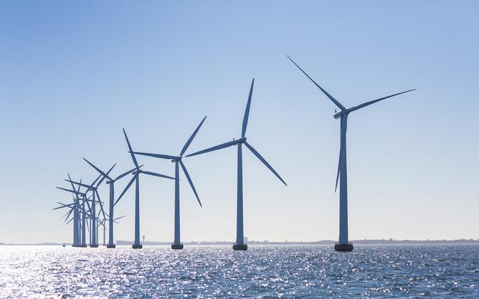 Offshore wind turbines (photo is illustrative).