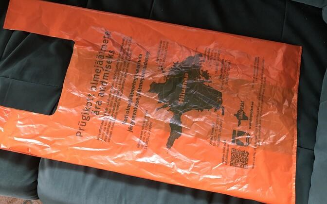 Prepaid recycled bag