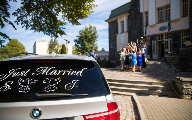 A wedding in Tallinn.