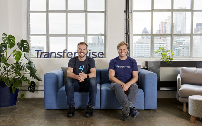 Основатели Trasnferwise Таавет Хинрикус и Кристо Кяярманн.