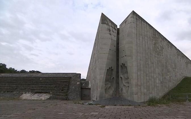 Old part of Maarjamäe Memorial.