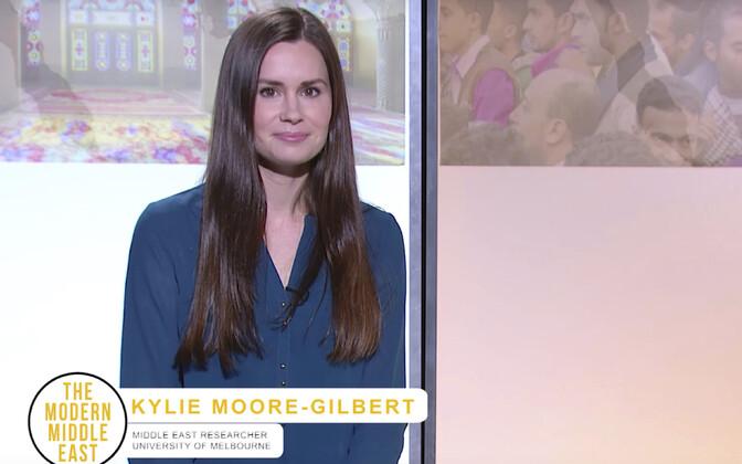 Iraanis vangi mõistetud Mebourne'i ülikooli Lähis-Ida õppejõud Kylie Moore-Gilbert.