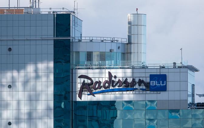 Radisson Blu Sky hotell.