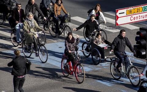 """""""Ma usun, et ka jalgratta eelistamine ei peaks olema niivõrd teadlik ja ratsionaalne valik, vaid see peaks olema loomulik ja atraktiivne alternatiiv,"""