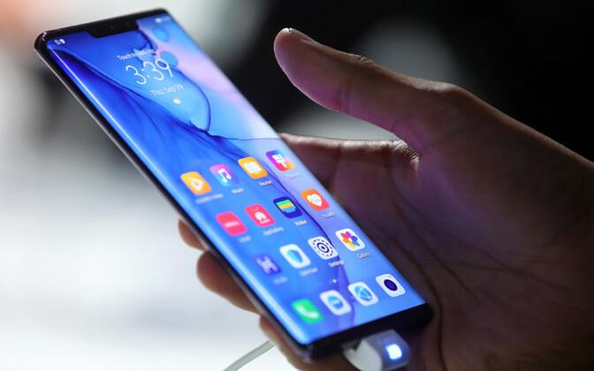 Huawei nutitelefon.