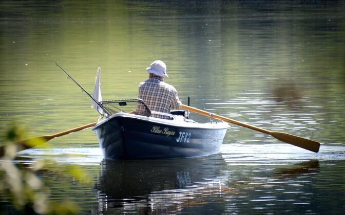 Рыбак. Иллюстративная фотография.