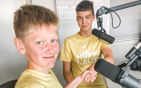 Noored leiutajad Andreas Sadam ja Gustav Tamkivi tahavad luua Hüppelaua laagris veebiplatvormi Menter, mis toob kokku eratundide pakkujad ja huvilised