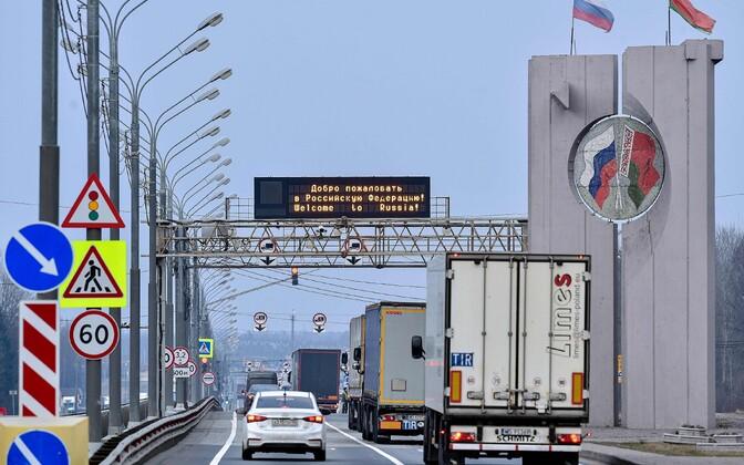 Vene-Valgevene piiripunkt.