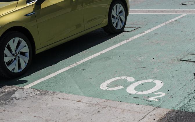 Süsinikuneutraalsete autode parkimiskohad.
