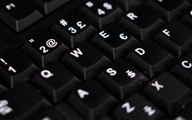 Arvutiklaviatuur.