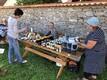 Palkmaja ehitajate kutsevõistlus ja Hiiumaa külade päeva tähistamine.