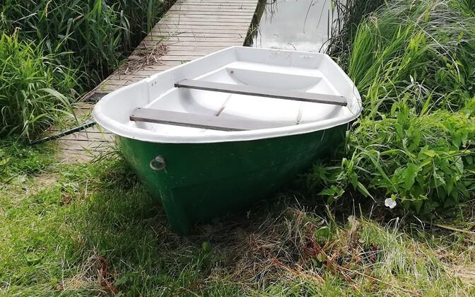 Лодка. Иллюстративная фотография.