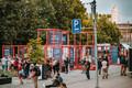 The last day of 'Car-free Avenue' in Tartu.