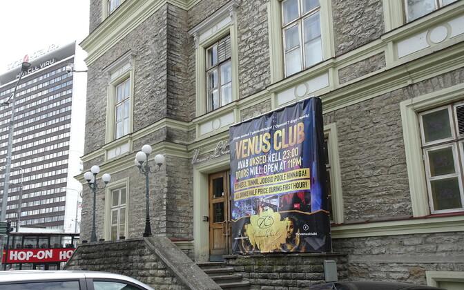 One of central Tallinn's nightclubs.