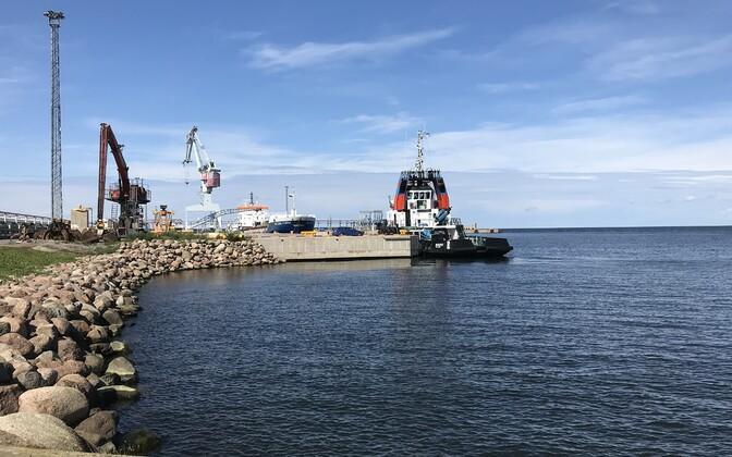 Силламяэский порт.