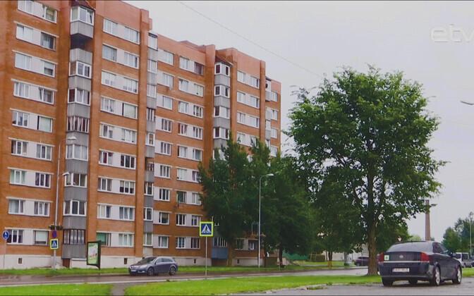Ахтмеский район Кохтла-Ярве.