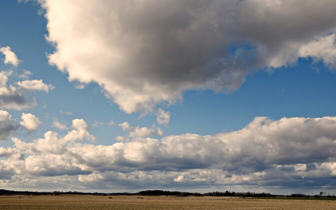 Clouds over Estonia.