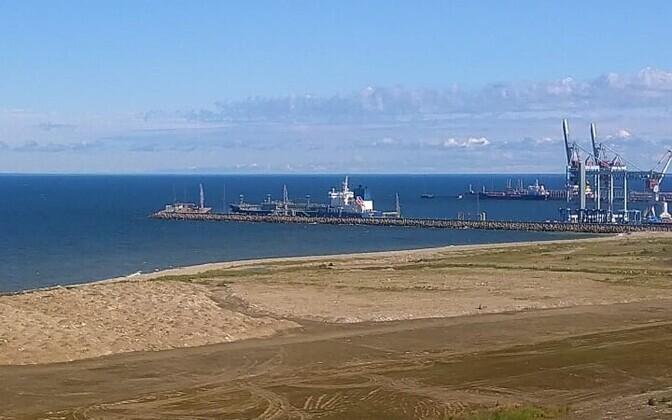 Port of Sillamäe.