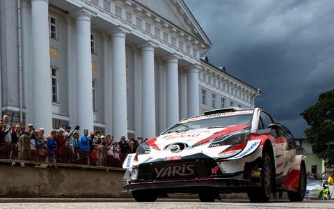 Ott Tänak mullusel Rally Estonial.