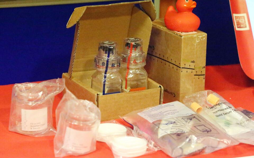 Dopingutesti tarvikud