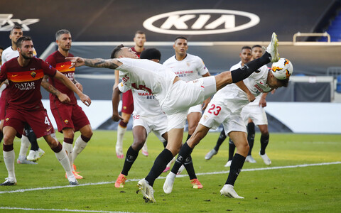 Jalgpalli Euroopa liiga: Sevilla - AS Roma