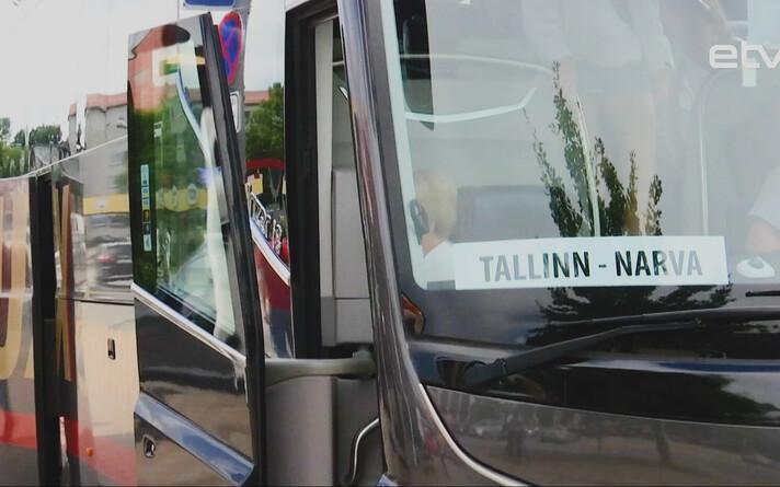 Автобус Таллинн-Нарва.