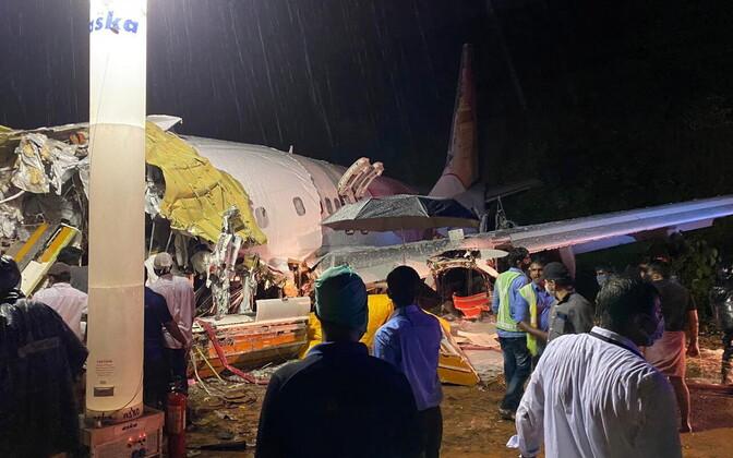 Авиакатастрофа в Индии.