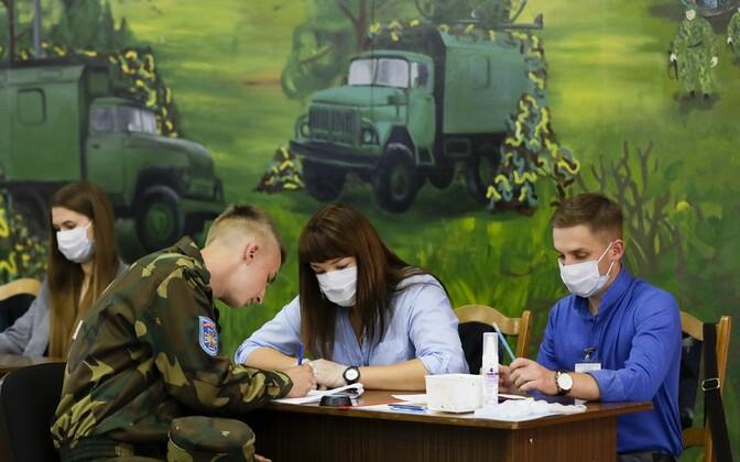 Presidendivalimised Valgevenes.
