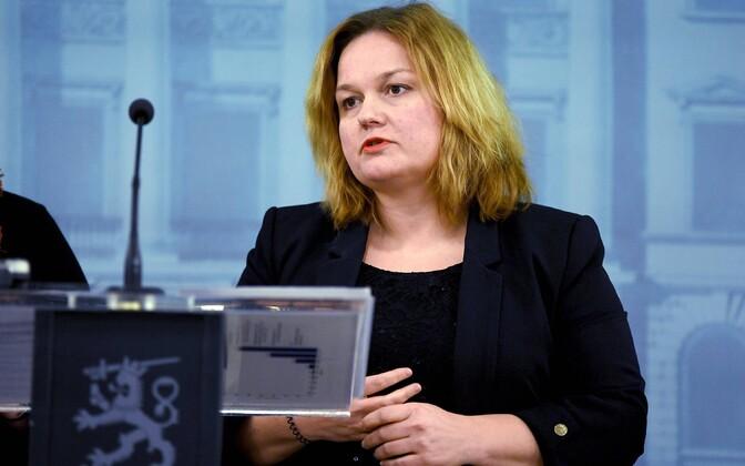 Soome rahvastiku- ja sotsiaalteenuste minister Krista Kiuru.