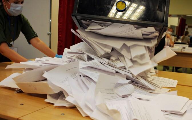 Valgevene presidendivalimised.