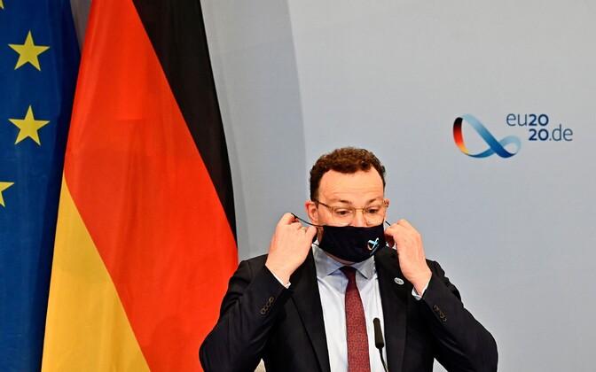 Saksa terviseminister Jens Spahn.