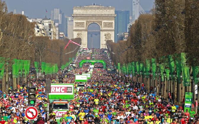 Pariisi maraton 2016. aastal