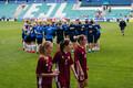 Eesti naiste jalgpallikoondis võõrustas maavõistluses Lätit
