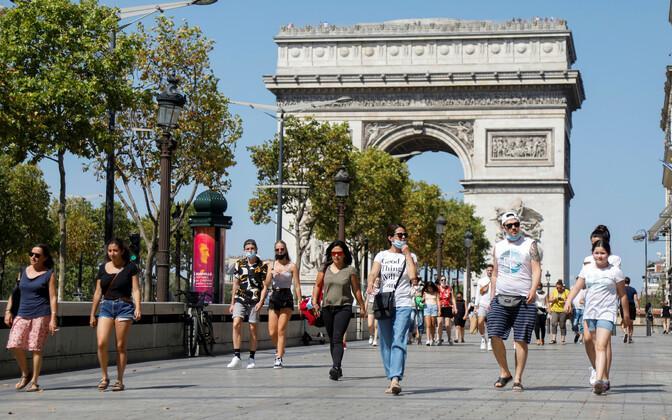Prantsusmaal on nakatumiste arv taas tõusuteel.